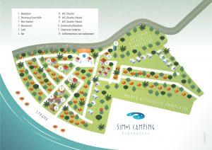 Karte von Simos Camping