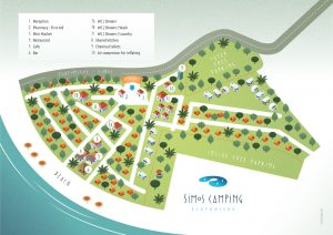 Map of Simos Camping