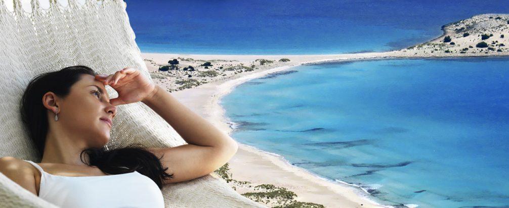 Σίμος κάμπινγκ παραλία